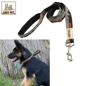 921b2514e53f Details about Anti Shock Dog Lead Walk/Training Bungee Pull Absorbing Leash  Soft Padded M L XL