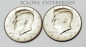 D Kennedy Half Dollar 2 Coin Set Uncirculated 2016 P