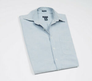 GANT-Vintage-Mens-Blue-Casual-Shirt-short-sleeved-Size-Medium
