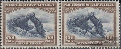 Southwest 144-145 Horizontal Couple With Hinge 1931 Landesmotive To Suit The PeopleS Convenience Stamps Careful Namibia