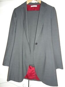 bfcd6e999e Image is loading JESIRE-grey-trousers-suit-size-8-10-US6