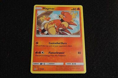 Magmar 18//156 - NM Common Pokemon Card 2018 Ultra Prism