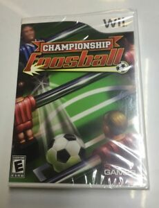 CHAMPIONSHIP-FOOSBALL-GAME-FOR-NINTENDO-Wii-NEW-FACTORY-SEALED