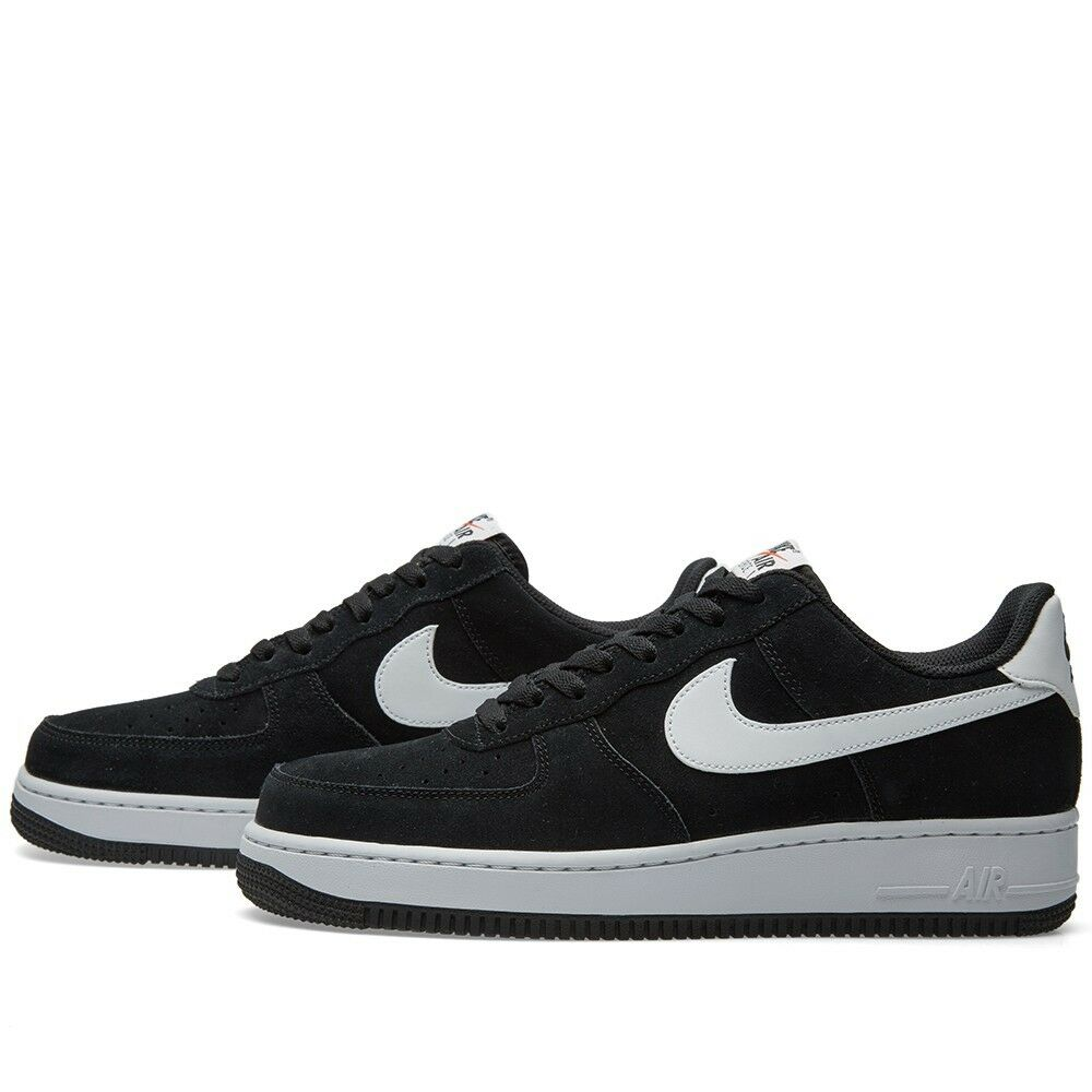 innovative design dd8fe c10c4 ... 820266-015 New Nike Air Force Force Force 1 Low Mens Basketball Shoes  Sneakers BLACK ...