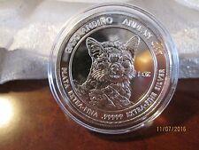 2011 RSC Royal Silver Company Andean Cat 1 oz .99999 Silver Coin Round