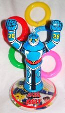 "GIGANTOR TETSUJIN-28 14""RING TOSS Inflatable MINT! ANIME ROBOT BANDAI JAPAN 1979"
