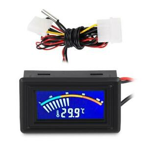 Electronic LCD Digital Temperature Meter Tester Thermometer Probe Sensor Wired