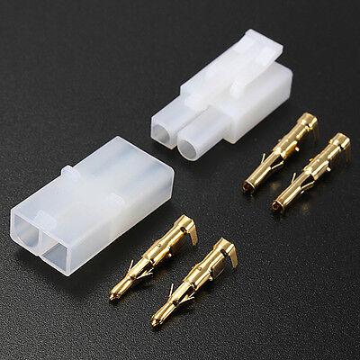 5pair 30pcs RC R/C 7.2v Battery Large Male Female Connector Plug Crimps Pins Set