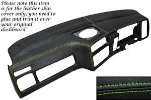 GREEN-STITCH-DASH-DASHBOARD-COVER-FITS-FORD-SIERRA-MK1-RS-COSWORTH-SAPPHIRE-4x4