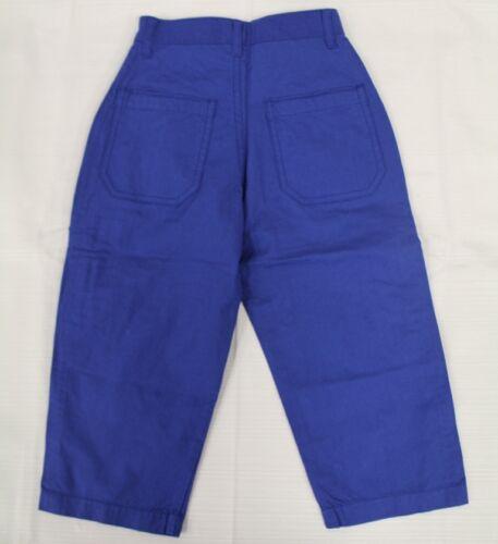 JACADI Boy/'s Capable Indigo Blue Pants Sz 10 Years NEW $54