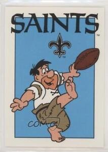 1993-CARDZ-Team-NFL-The-Flintstones-New-Orleans-Saints-74