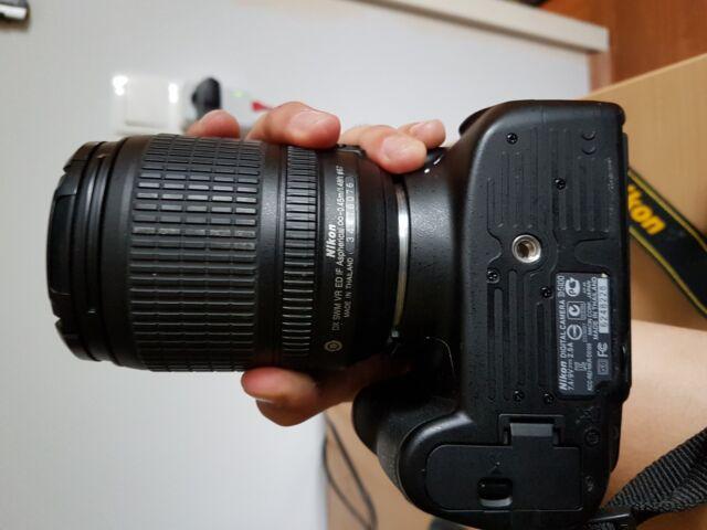 Nikon D D5100 16.2 MP SLR-Digitalkamera - Schwarz (Kit m/ AF-S DX 18-105mm f/3.…