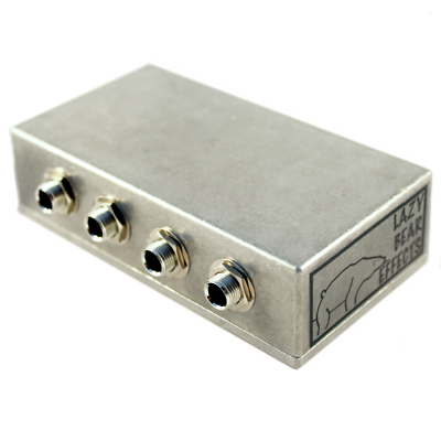 CR® 3 CHANNEL PEDALBOARD JUNCTION BOX PATCH BAY FOR ELECTRIC GUITAR HANDWIRED