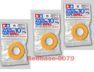 TAMIYA-87034-Model-paint-spray-Masking-Tape-10mm-Refill-x3