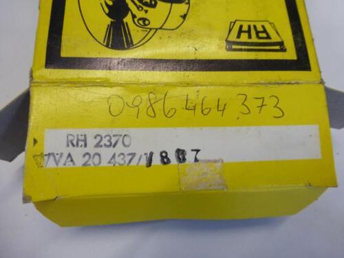 Original Road House plaquette de frein Plaquettes de frein avant 2370 wva20437 BMW 5er 6er 7er