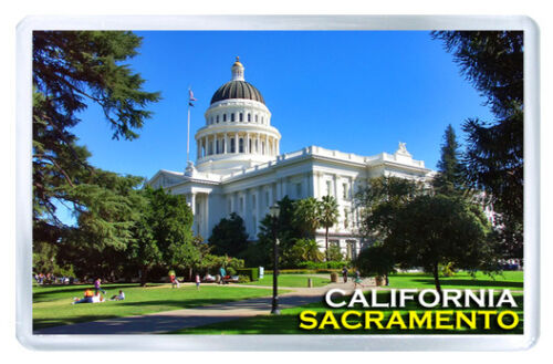 Sacramento Kalifornien USA Fridge Magnet Souvenir Magnet Kühlschrank