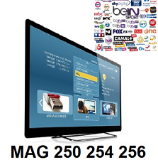 12 Mois Iptv 3000 CHAINES HD+FILMS+SERIES TRES COMPLET POUR MAG 250 254 256 1 AN