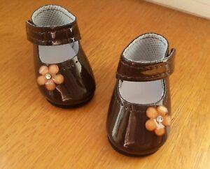 Chaussure o choix pour poupée Ma Corolle 36cm Vanille Caramel Chocolat