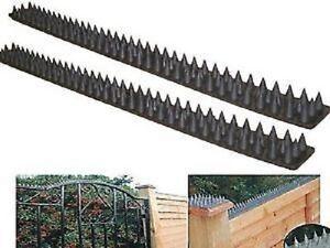 4 4m Fence Wall Spike Set Intruder Cat Bird Repeller