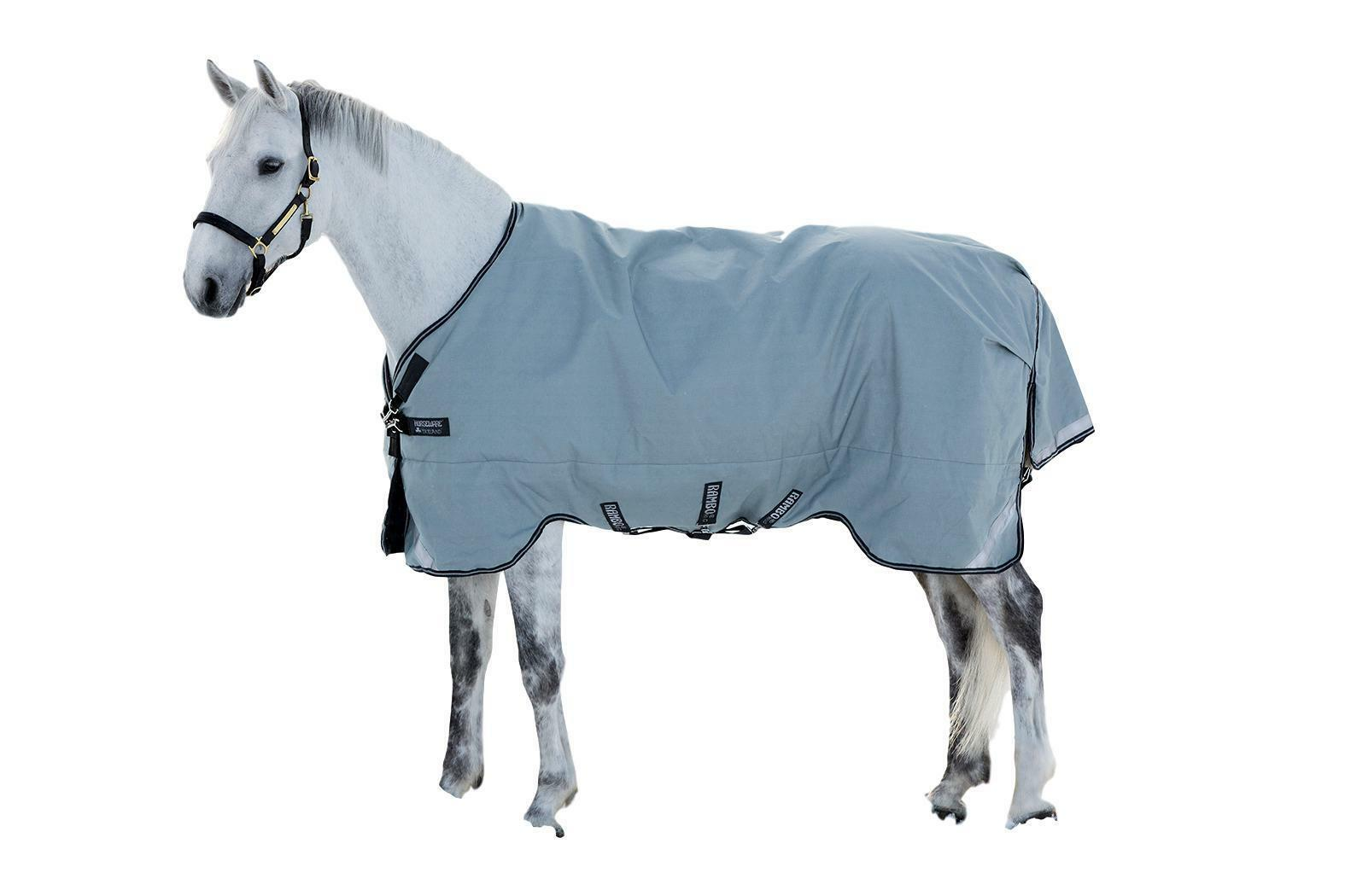 Horseware Rambo Original Turnout Blanket 100g with Leg Arches Waterproof