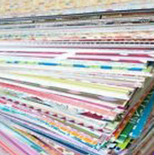 50+ Mixed Lot of 4 x 6 Scrapbook Paper & Cardstock - Great Card Making & Mats