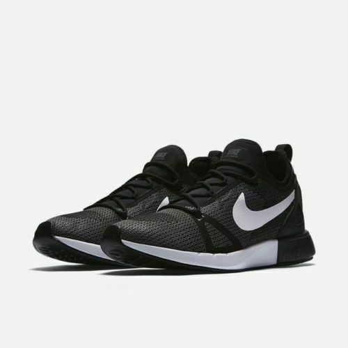 NEW Nike Duel Racer Men's US Size 9 Race Day Running shoes 918228 010 Black