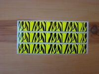Arrow Wraps Flo Yellow Carbon Fiber Super Tiger Stripe 13 Pack Arrow Building