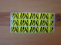 Arrow Wraps Flo Yellow Carbon Fiber Super Tiger Stripe 13 Pack Arrow Building