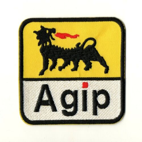 For Agip Fuel Oil Gas AutoLube Racing P1311 Embroidered Iron Patch High Quality