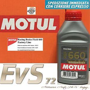 MOTUL-RBF-660-DOT-4-Factory-Racing-Olio-Liquido-Freni-Auto-Moto-100-SINT-500ml