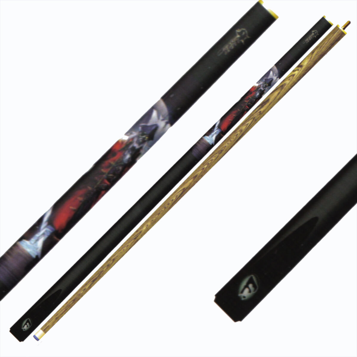 Queue de billard Canne de billards pool pool pool snooker en 2 eleHommes ts Pirates Ref.6594 e35521