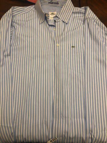 Lacoste Regular Fit 42 Mens Front Pocket Long Slee
