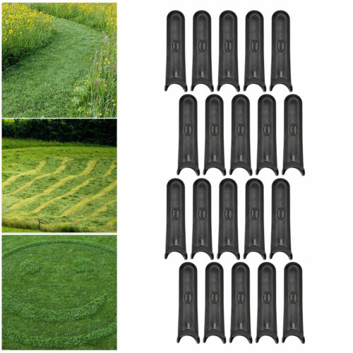 60pcs Grass Lawnmower Strimmer Plastic Blades For FLYMO MINIMO HOVER FLY014