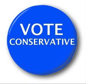 vote-conservateur-25mm-2-5cm-Insigne-de-bouton-NOUVEAUTE-election-Brexit