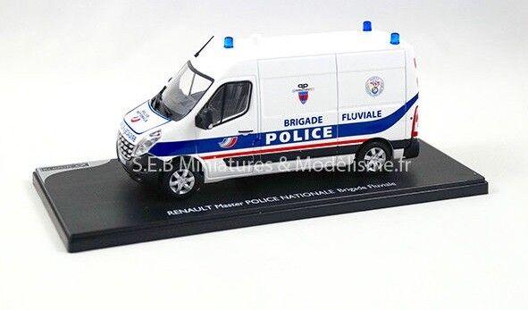 RENAULT MASTER MASTER MASTER POLICE NATIONALE  BRIGADE FLUVIALE  1 43 ELIGOR 480PCS cebf92
