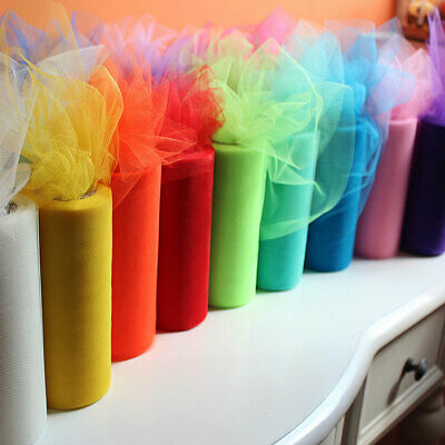 Ke 22o X 15cm Organza Tulle Fabric Roll Diy Craft Tutu