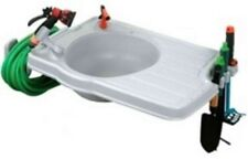 OUTDOOR Garden Watering Portable Equipment Plastic SINK System Large Counter Top