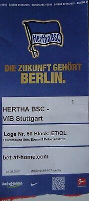 Programm BL 2017//18 Hertha BSC Berlin Bayer Leverkusen