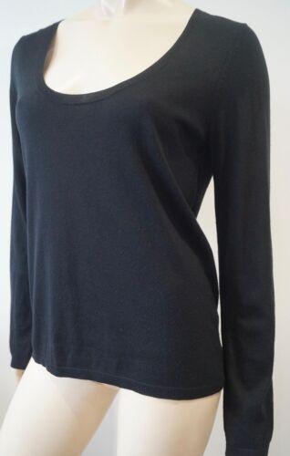 et rond noir coton col Voltaire Zadig jersey à de Pull ouvert en col Yvqwxzp