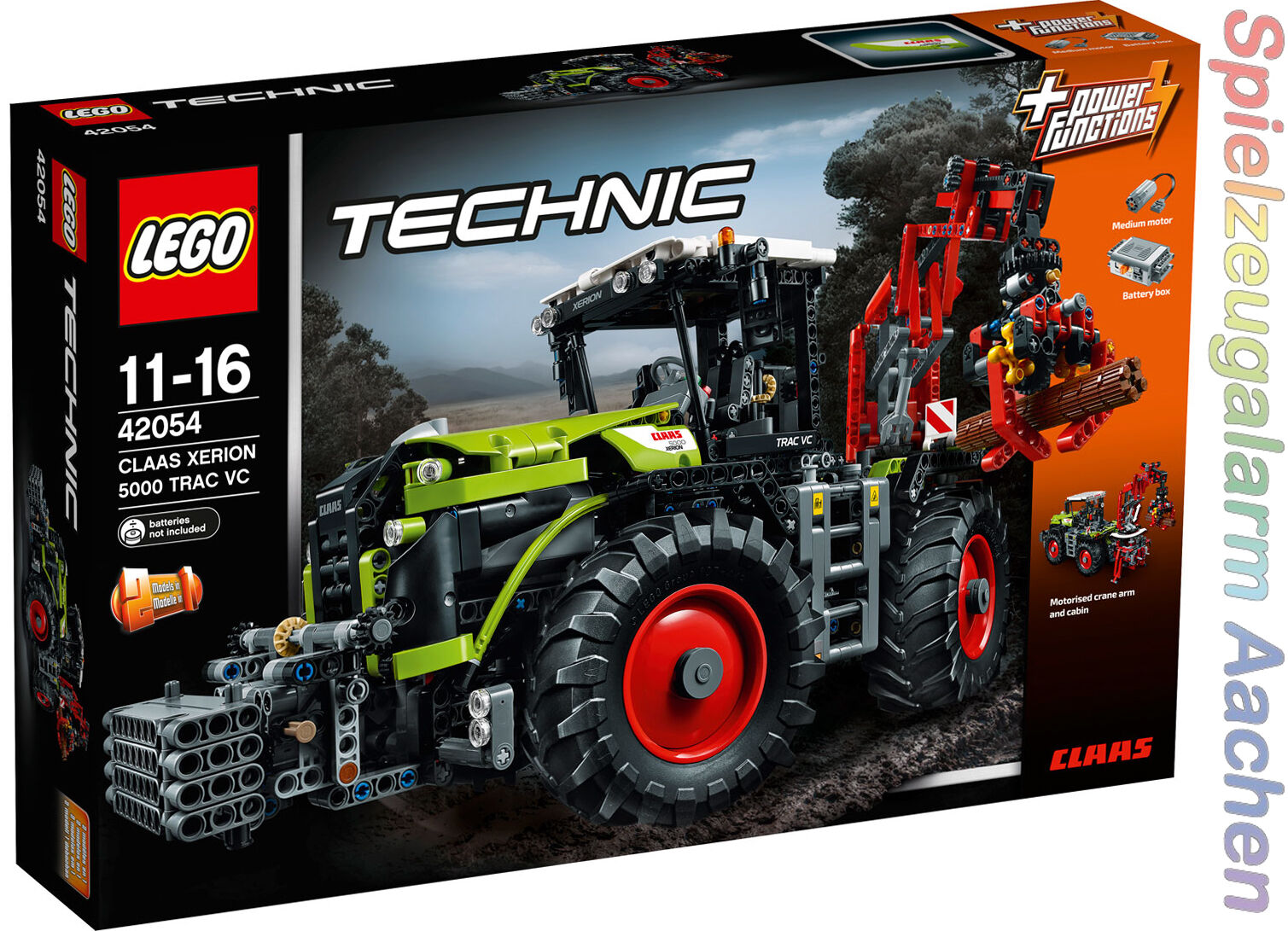 Lego 42054 Technic Claas tractor xerion 5000 Trac VC n168