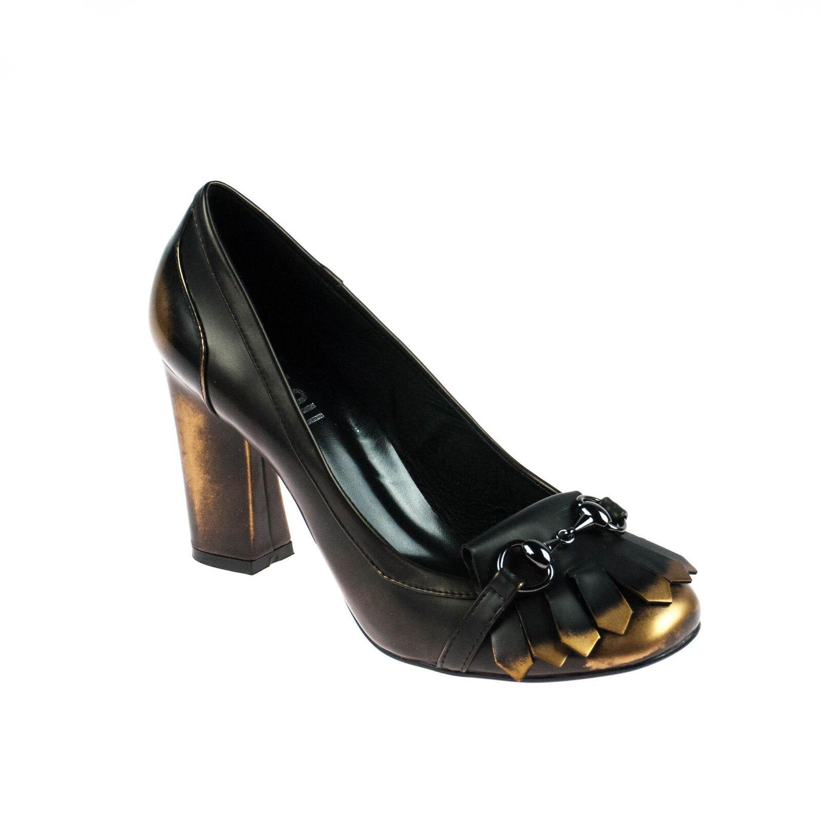 Bibi Lou señora pumps cuero bronce tamaño 40