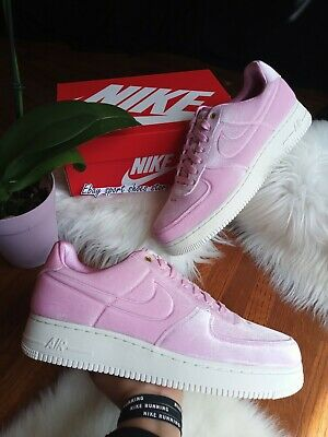 10.5 MEN'S Nike air force 1 '07 PRM 3 VELVET PINK SAIL RUNNING CASUAL AT4144 600 886059923466 | eBay
