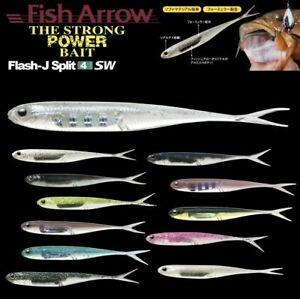 "FISH ARROW FINESSE SOFT BAIT FLASH-J SPLIT TAIL 7"" SW"