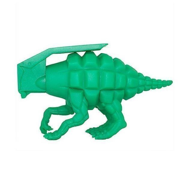 Verde Dinogrenade Vinyl Figure by Ron ENGLISH Popaganda Dinosaur Grenade NEW