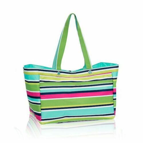 Thirty one Soft Utility tote 31 gift beach travel gym shoulder bag Preppy pop