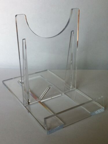 20 Extra Large Two Part Perspex Display Stands 10.5 x 13 cms iPad Kindle Tablet