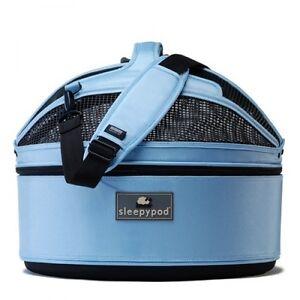 Sleepypod-3-en-1-Sky-blue-azul-claro-bolsa-de-transporte-para-los-perros-gatos-amp