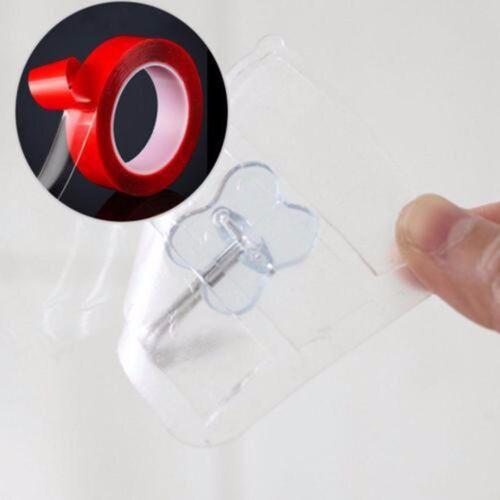 3Meter Transparent Doppelseitiges Klebeband Breite 5-30mm Hochleistungsklebeband