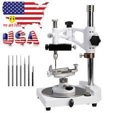 【USPS Ship】Dental Parallel Surveyor Device + Tools Handpiece Holder 6PCS Spindle
