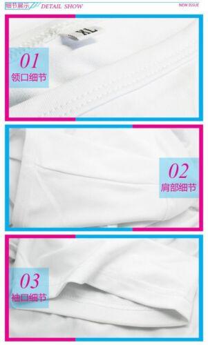 Anime Sekai-Ichi Hatsukoi à manches courtes Casual bl Unisexe T-shirt Tee S-4XL #33